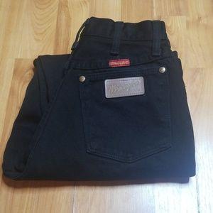 Wrangler | Black Vintage Super High Rise Jean